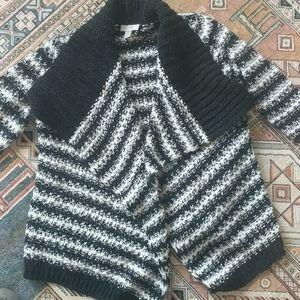 Loft warm striped sweater